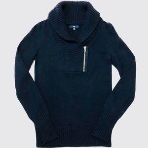 gap | shawl collar sweater.